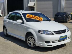 2006 Holden Viva JF Equipe White 4 Speed Automatic Hatchback Mayfield East Newcastle Area Preview