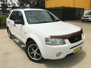 2007 Ford Territory SY TS AWD White 6 Speed Sports Automatic Wagon Seven Hills Blacktown Area Preview