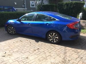 2016 Honda Civic EX with sunroof and many options