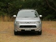 2012 Mitsubishi Outlander ZJ MY13 Aspire 4WD Silver 6 Speed Constant Variable Wagon Hahndorf Mount Barker Area Preview