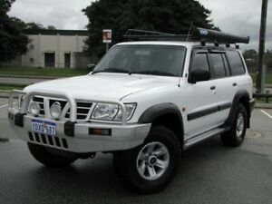2003 Nissan Patrol GU III MY2003 ST White 5 Speed Sports Automatic Wagon Maddington Gosnells Area Preview