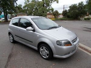 2007 Holden Barina TK MY07 Silver Ash 5 Speed Manual Hatchback Alberton Port Adelaide Area Preview