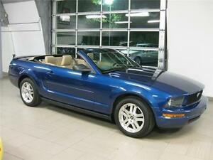 FORD MUSTANG 2007 CONVERTIBLE 175$/2sem 36 mois TOUT INCLUS!
