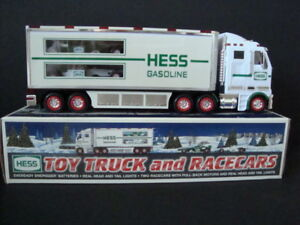 HESS -- 2003 Toy TRUCK and RACE CARS