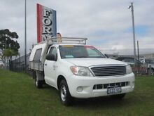 2005 Toyota Hilux TGN16R Workmate White 5 Speed Manual Utility Wangara Wanneroo Area Preview