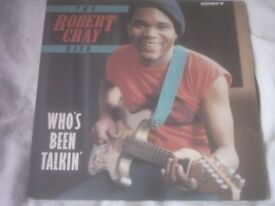 Vinyl LP Who's Been Talkin' – The Robert Cray Band Charly R&B CRS 1140