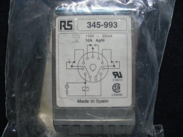 Relais C2A20X-AC-115V Releco 115VAC 8 broches C2-A20X-AC-115V