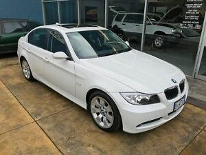 2007 BMW 325I E90 Alpine White 6 Speed Auto Steptronic Sedan Hobart CBD Hobart City Preview