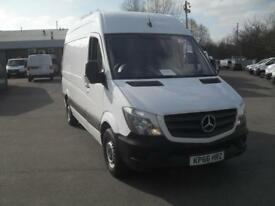 Mercedes-Benz Sprinter 314 MWB H/R CDI VAN EURO 6 DIESEL MANUAL WHITE (2016)