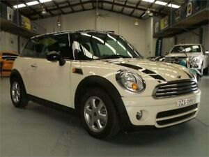 2009 Mini Cooper R56 D Pepper White 6 Speed Manual Hatchback Seven Hills Blacktown Area Preview