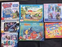 Selection of puzzles and games