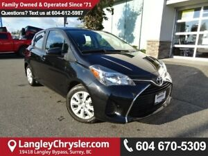 2016 Toyota Yaris LE *ACCIDENT FREE*ONE OWNER*LOCAL BC CAR*