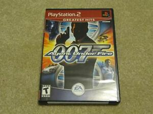PS2 Game – James Bond 007 Agent Under Fire (Almost New)