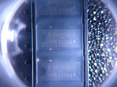 Seiko Epson Sg-636 Series Oscillator Xo 20 Mhz Cmos Standard 3.3v New Qty.5