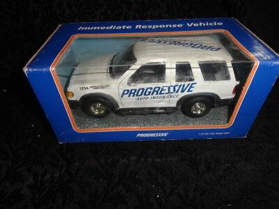 New Progressive Insurance 1 24 Scale Ford Explorer Response Vehicle