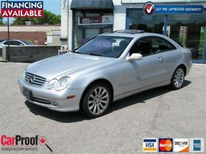2003 Mercedes-Benz CLK-Class 3.2L Coupe Loaded Great Cond.