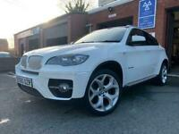 2010 160-Reg BMW X6 xDrive 40d M-Sport Auto,ALPINE WHITE,GREAT SPEC,MUST SEE!!!!