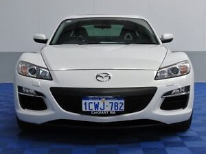 2008 Mazda RX-8 MY08 Luxury White 6 Speed Automatic Coupe East Rockingham Rockingham Area Preview