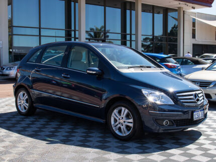 2007 Mercedes-Benz B200 W245 Turbo Blue 7 Speed Constant Variable Hatchback Alfred Cove Melville Area Preview
