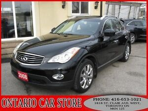 2008 Infiniti EX35 AWD NAVIGATION LEATHER SUNROOF