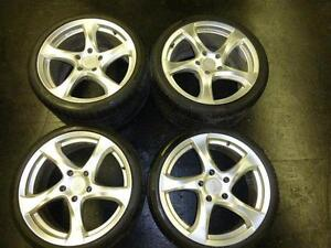 PORSCHE 911 STAGERED WHEELS -- TURBO DESIGN -- $1500