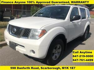 2006 Nissan Pathfinder 4WD 7 Seat FINANCE 100% APPROVED WARRANTY