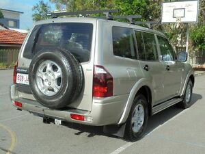 2004 Mitsubishi Pajero NP MY05 GLX Gold 5 Speed Sports Automatic Wagon Chermside Brisbane North East Preview