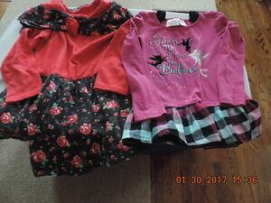 Girl's Size 6 Winter Dresses & Skirt Set