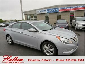 2011 Hyundai Sonata Limited, Sunroof, Leather interior