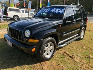 2007 Jeep Cherokee KJ MY05 Upgrade II Limited (4x4) Black 4 Speed Automatic Wagon Clontarf Redcliffe Area Preview