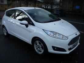 Ford Fiesta 1.25i 16V 82BHP ZETEC **One Owner / Full Service History** (white) 2013