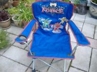 Childs Folf Up Chair Mystic Force Power Rangers