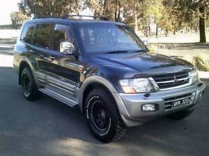 2001 Mitsubishi Pajero Wagon,DUEL FUEL,Auto,Very Tidy Dandenong North Greater Dandenong Preview