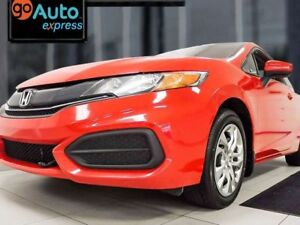 2014 Honda Civic LX Coupe 5-SPD manual with heated seats and a s