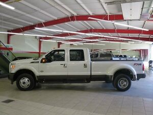 2015 Ford F-350 King Ranch Local Sask Pd Diesel Dually