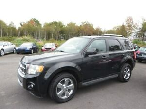 66$ WEEKLY OAC!! 4X4! 2011 Ford Escape Limited NEW MVI