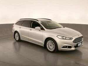 2015 Ford Mondeo MD TREND PWRSHIFT Silver Sports Automatic Dual Clutch Wagon