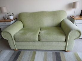 Sofa - two seater, excellent condition NEEDS A HOME!