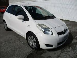 2009 Toyota Yaris White Automatic Hatchback West Perth Perth City Area Preview