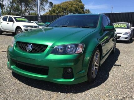2011 Holden Commodore VE II SS Green 6 Speed Sports Automatic Sedan