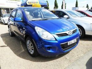 2010 Hyundai i20 PB Active Blue 4 Speed Automatic Hatchback Minchinbury Blacktown Area Preview