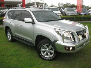 2014 Toyota Landcruiser Prado KDJ150R MY14 GXL (4x4) Silver 5 Speed Sequential Auto Wagon South Grafton Clarence Valley Preview