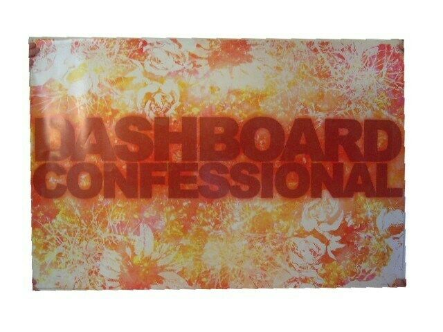 Dashboard Confessional Poster The