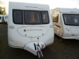 Fleetwood Heritage 640EB, 2007 model twin axle Caravan with motor mover