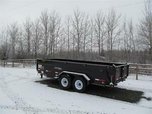 BLOW OUT !!  16' EXCURSION DUMP TRAILER Prince George British Columbia image 2