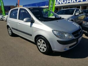 2009 Hyundai Getz TB MY09 S Silver 5 Speed Manual Hatchback Wangara Wanneroo Area Preview