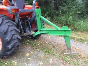 3-Point Sub-Soiler for deep tillage or creating water drainage