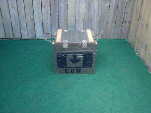 Storage Box with Canada flag on front