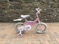 Girls Raleigh Mini Miss bike