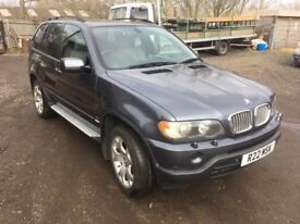 BMW X5 4.4i V8 Sport Auto E53, Met. Dark Grey / Leather, Great Cond. low Mls